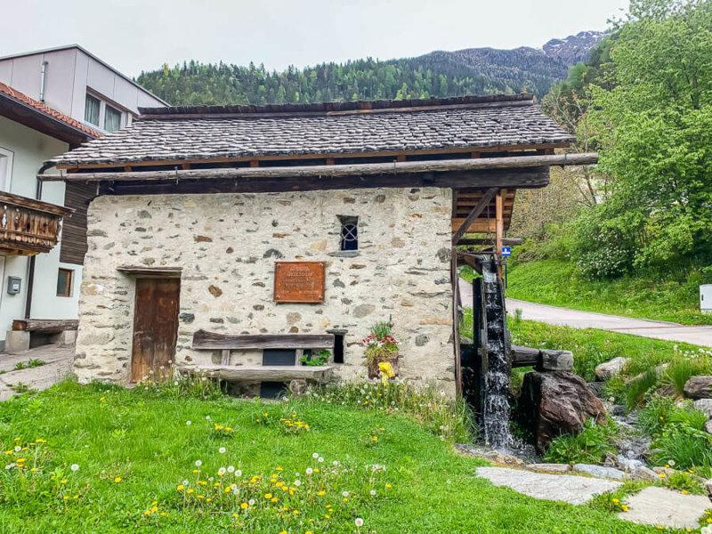 Ortskern Nikolsdorf in Osttirol